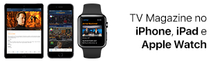 TV Magazine no iPhone, iPad e Apple Watch